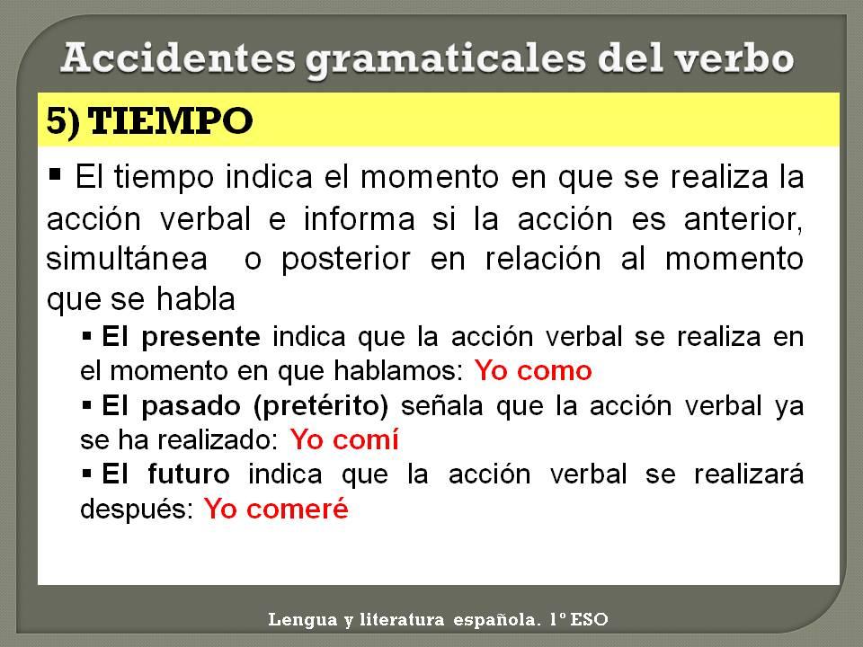 El verbo - Tiempo en paracuellos del jarama ...