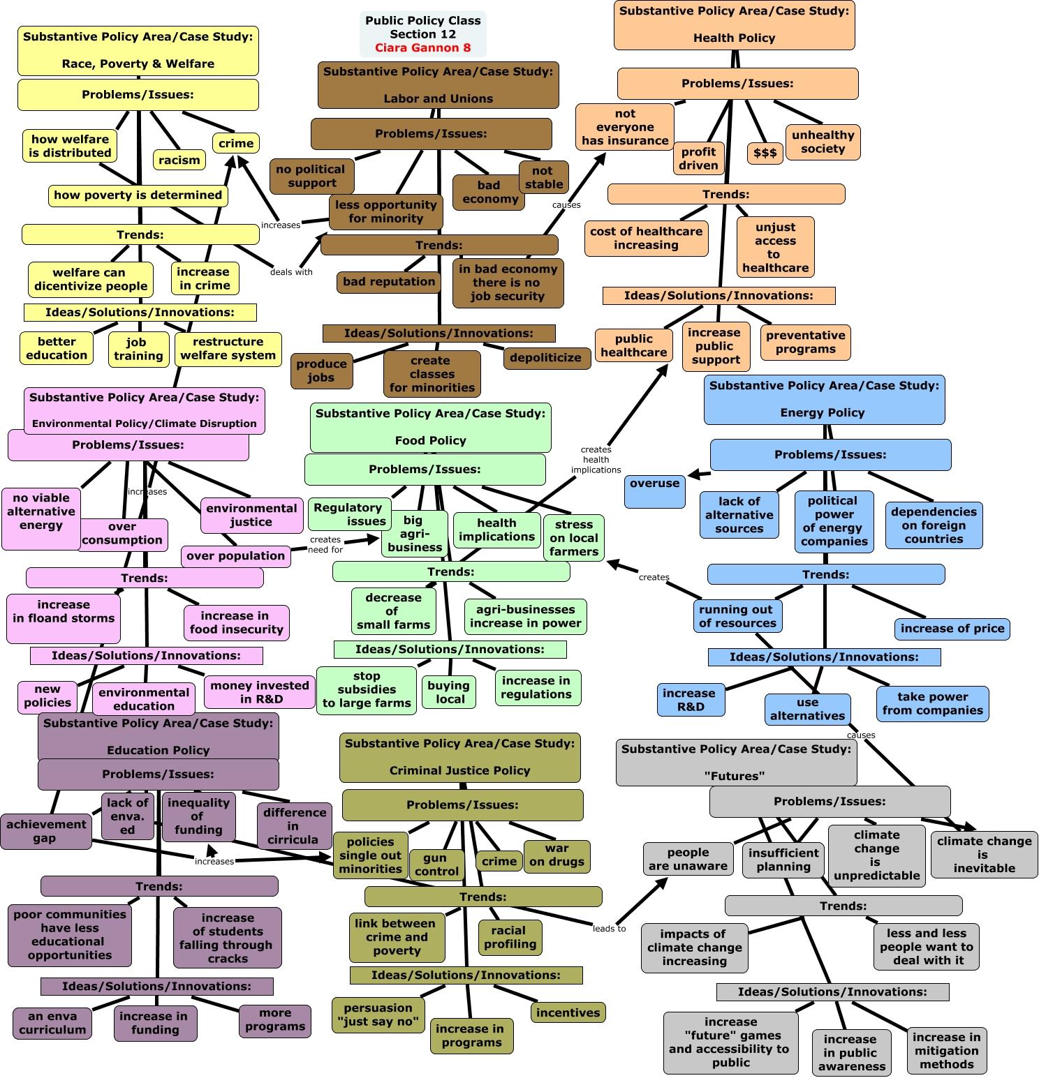 political environment case study