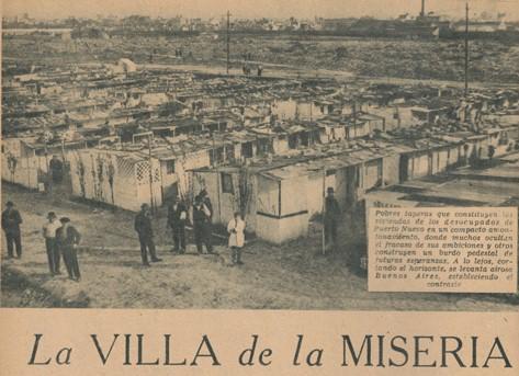Decada infame for Villas en argentina
